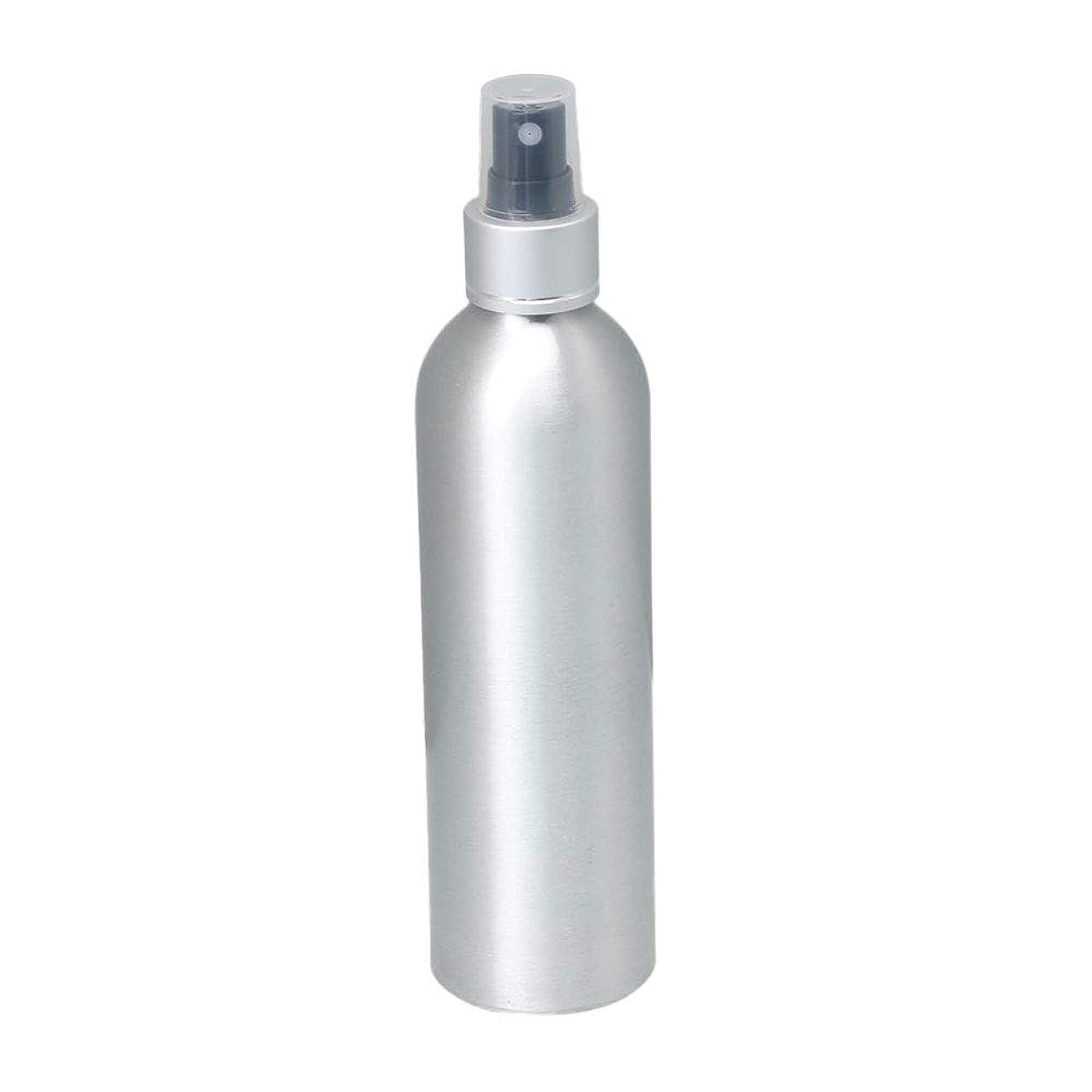 剛性損失勘違いする250ml アルミ スプレーボトル 噴霧器 美容ボトル 小分け容器 化粧水 漏れ防止 女性用 香水ボトル 0.1-0.15 ml/t ブラックノズル