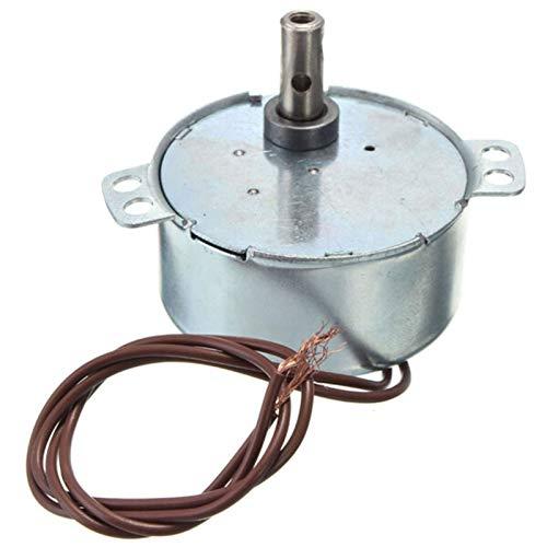 QINGRUI Ersatzteile AC 220-240V Drehscheibe Synchronmotor 15 / 18r / min 3,5 / 3W CW sind weit verbreitet in Elektro-Ventilatoren Öfen Mikrowellenherd stark und robust