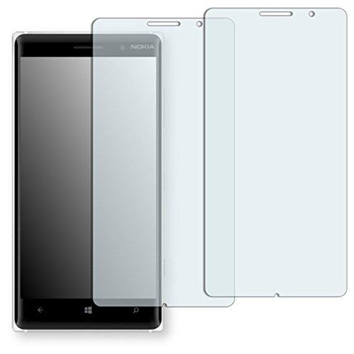 GOLEBO 2 x Semi-Matt Pellicola Protettiva per Nokia Lumia 830 - (Antiriflesso, Montaggio Molto Facile, Rimovibile Senza residui Adesivi)