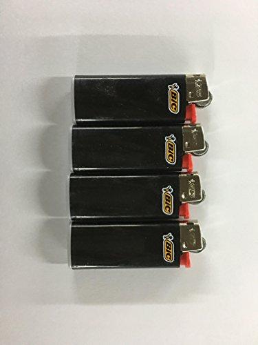Veel van 4 Bic Mini Ebony Jet zwarte aanstekers