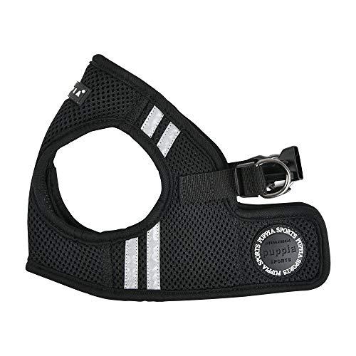 Puppia Soft Vest Harness PRO - Black - L