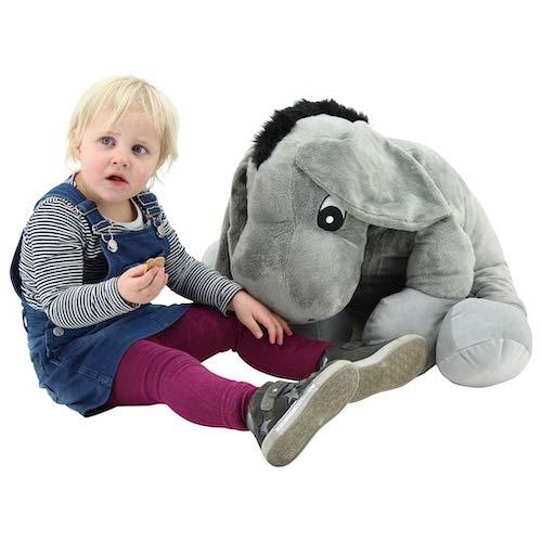 Sweety Toys 3310 XXL Plüsch Esel Bruno Riesenbär Teddy Teddybär supersüss softweich 65 cm Donkey
