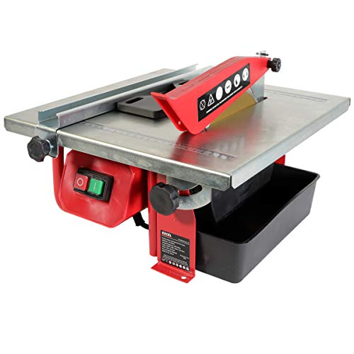 Electric Tile Cutter, 600W Tile Cutter with Water Cooling System, Power...