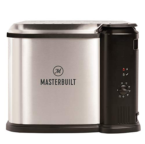 Masterbuilt MB20012420 Electric Fryer Boiler, Steamer, XL, Silver