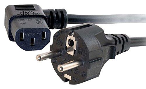 CABLES TO GO - Cable alimentación Universal ángulo
