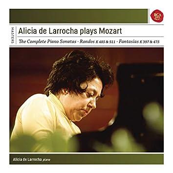 Alicia de Larrocha Plays Mozart Piano Sonatas, Fantasias and Rondos
