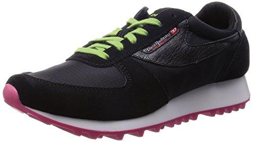 Diesel Zapatillas de Deporte para Mujer ELLE Kindly SHERUN W (EUR 40, Negro)
