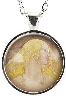 Freyja Necklace, Viking Jewelry, Norse Mythology Goddess Of Love And War, Feminist Freya Pendant