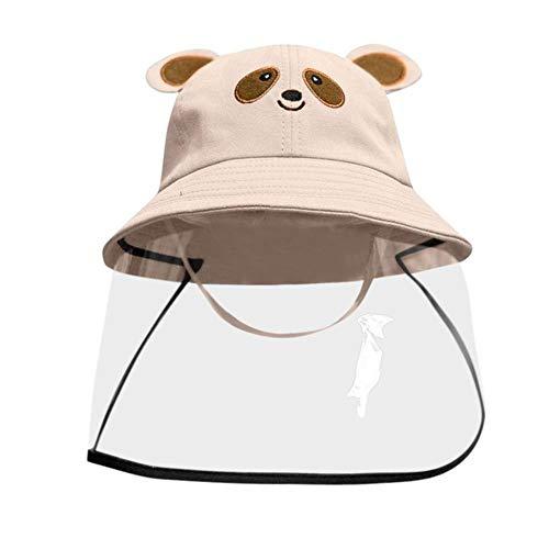WXCL Bedruckte Kappe Bruchsichere Schutzkappe Staubschutzhülle Kind Junge Mädchen Fischer Hut Hut Baby Cartoon, Champagner, China