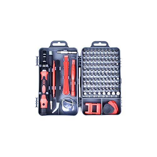 GIAO Juego de Destornilladores de Precisión, Kit de Herramientas Precision de Reparación de Bricolaje Profesional Destornilladores Precision Puntas(Color:B)
