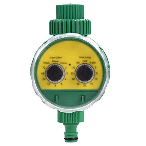 EEUK Temporizador de Riego Programable, Controlador de Riego, Sistema de Riego Automático con Temporizador, Resistente al Agua, Automatico Control