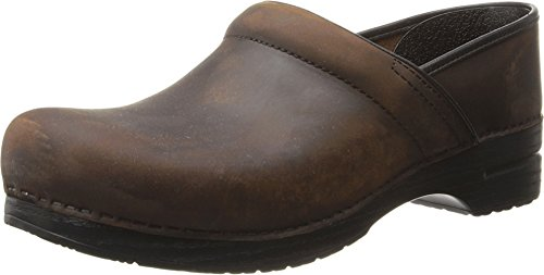 Dansko, Mules pour Femme - Marron - Antique Brown Oiled, 43 EU