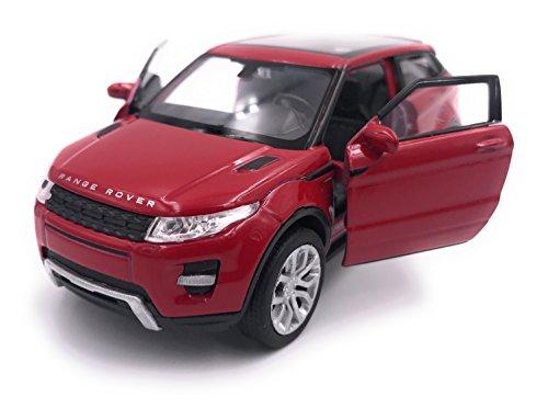 H-Customs Range Rover Evoque Modellauto Auto Lizenzprodukt 1:34-1:39 Rot
