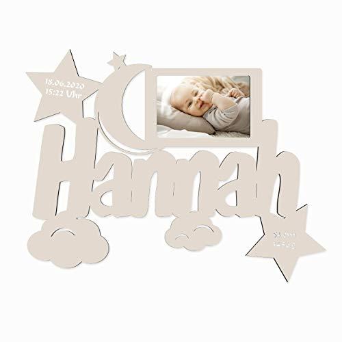 Schlummerlicht24 Licht & Deko -  Baby Bilderrahmen