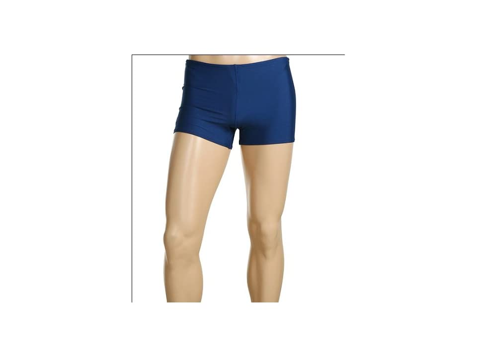 Speedo ML Solid Endurance Square Leg (Navy) Men
