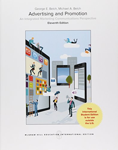Compare Textbook Prices for Advertising and Promotion 11th edition Edition ISBN 9781259921698 by