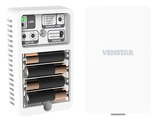 Venstar acc-tsenwifi wi-fi wireless temperature sensor for color touch and voyager thermostat 1 wireless for color touch and voyager thermostat sold in each