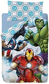 Marvel Avengers Strike Saco Nórdico de 2 Piezas para Cama de 90, Cotton, Multicolor