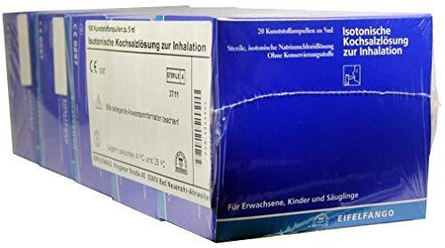 ISOTONISCHE Kochsalzlösung zur Inhalation 100X5 ml