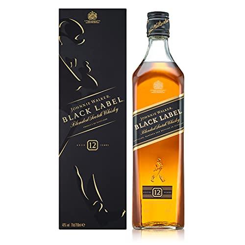 7. Whisky Escocés Johnnie Walker Black Label