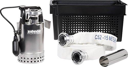 Zehnder Pumpen E-ZW 65A 16916 Schmutzwasser-Tauchpumpe 9500 l/h 14m