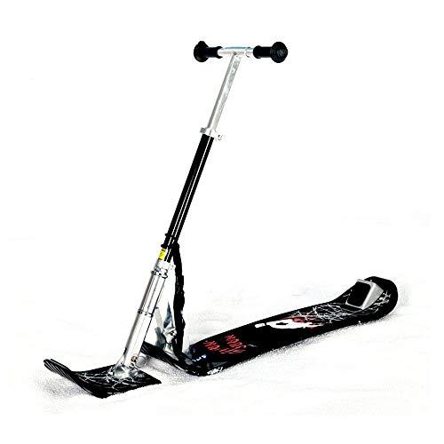 LTongx Schnee-Schlitten für Kinder, Ski-Schlitten, Schnee Slider Schlitten, Schneeroller Board Scooter Converter Kit, Ski-Schlitten