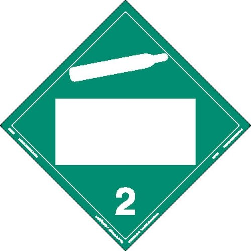 Max 56% discount OFF Labelmaster ZRV3B Non-Flammable Gas Blank Hazmat Placard Rigid