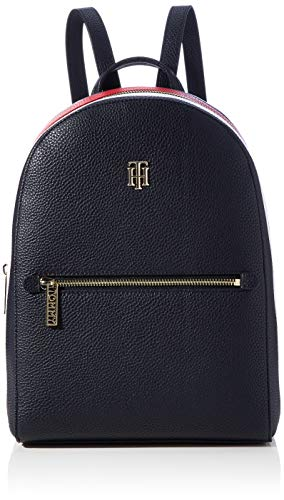 Tommy Hilfiger Damen TH ESSENCE BACKPACK CORP Taschen, Sky Captain, One Size