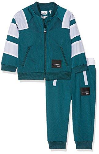 adidas adidas Kinder Trainingsanzug EQT SST, Mysgrn/White, 62, CE4352