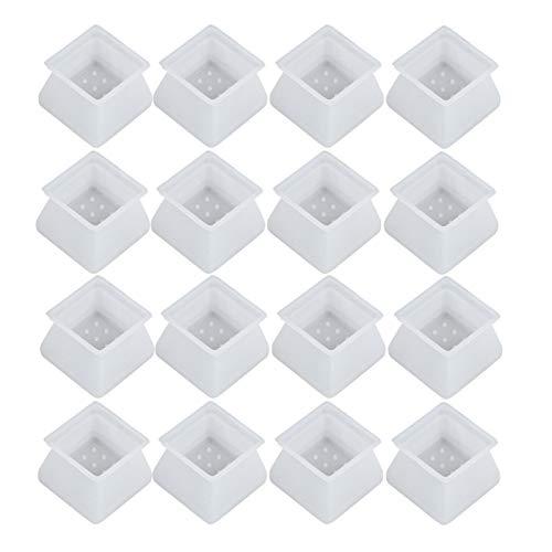 Protector Patas Sillas 32 unids silicona antideslizante de la mesa de protección de la pata de la plancha de la pata de la rueda protectora anti deslizamiento de sílice gel de la mesa de la mesa de la