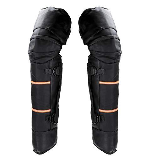 Rodilleras para Motocicleta para Hombre, Que Mantienen El Calor, Rodilleras Protectoras para El Invierno, Rodilleras para Jinete, Protección para Deportes Al Aire Libre, Protección Táctica