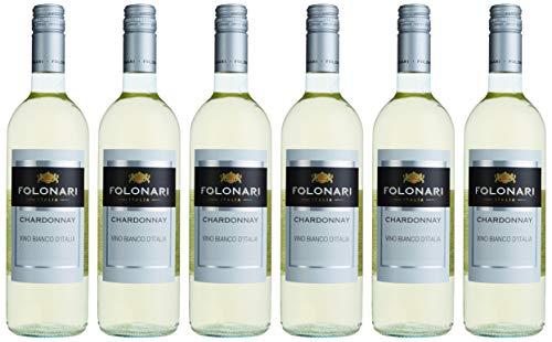 Folonari Chardonnay Weißwein trocken (6 x 0.75 l)