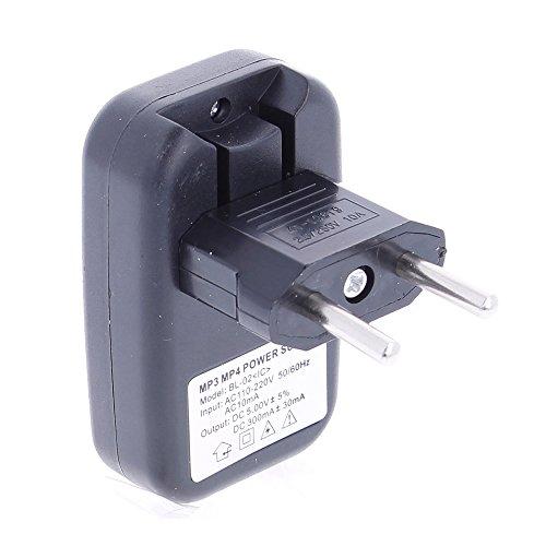 REY Cargador Adaptador de Corriente USB Universal para MP3 y MP4 de...