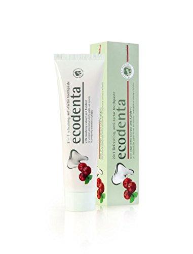 ecodenta Zahnsteinschutz Cranberry Zahnpasta 100ml