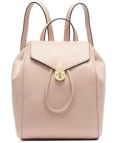 Calvin Klein Damen Soft Lock Lammleder Rucksack, Pink (Pale Rose), Einheitsgröße