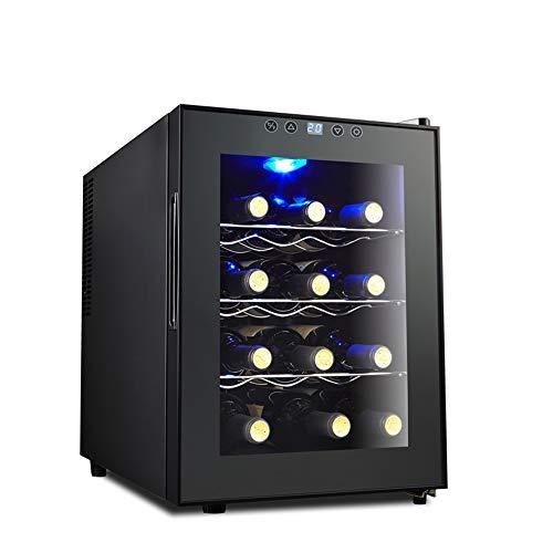 12 Fles Thermo-elektrische Counter Top Wijnkoeler Elektronische Wijnkoeler Thermostaat Wijnkast