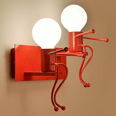 Luce a parete la luce ambiente candelabri a muro 40W 220V E27/moderno contemporaneo,220V,rosso scuro