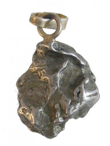 Meteorit Anhänger Heilstein - Größe: C
