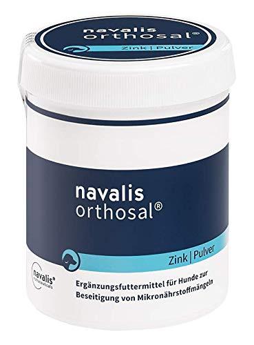 NAVALIS Nutraceuticals Orthosal Zink Dog Nährstoffpräparat für Hunde N