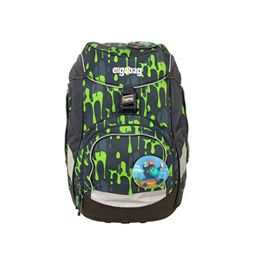 ergobag pack Set - ergonomischer Schulrucksack, Set 6-teilig - GlibbBär - Grün