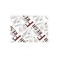 SONGLOU アクセサリー包装ベーキングペーパー食品包装紙パンのサンドイッチフライドポテト (Color : B5.100 sheets)