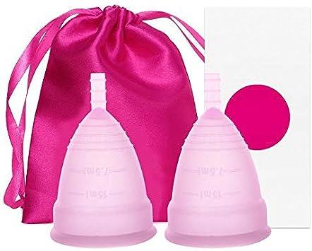 Taza de silicona médica menstrual para la higiene femenina de ...