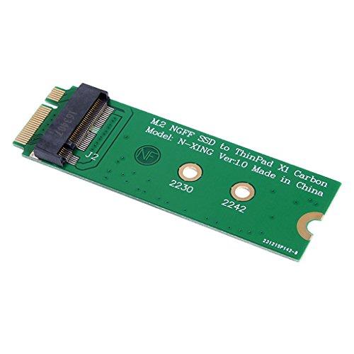 Homyl M.2 (NGFF) Adaptador SSD Para 20 + 6Pin SSD Para Lenovo ThinkPad X1 Carbon 2013