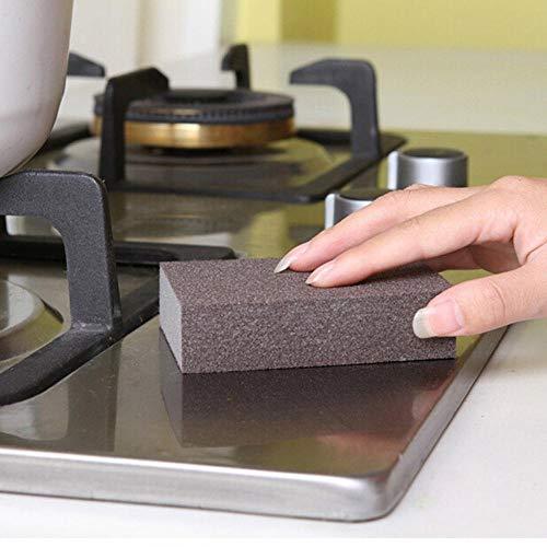 5 uds., Esponja mágica de melamina para eliminar óxido, esponja de limpieza de esmeril, esponja para descalcificar, olla, herramientas de limpieza, suministros de cocina