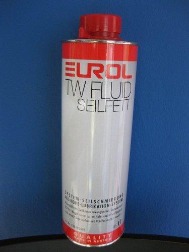 Eurol Seilfett TW-Fluid Hohlraumkonservierung Unterbodenschutz Seilschmierung Hohlraum Konservierung / 1-Liter-Dose