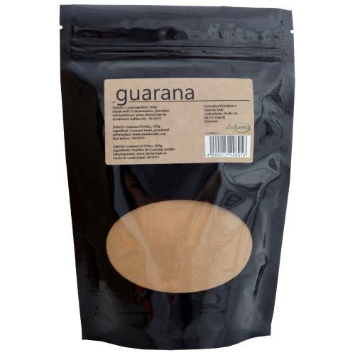 daforto guaraná polvo, 200g, 1er Pack (1x 200g)