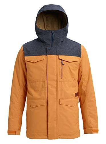 Burton Herren Covert Snowboard Jacke, Golden Oak/Denim, L
