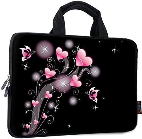 Pink Arrow Laptop Case 13//15 Briefcase Handbag Carrying Sleeve Case Cover