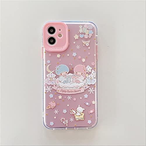 Funda de teléfono con patrón de Dibujos Animados para iPhone X XS MAX XR Soft TPU Back Coque para iPhone 11 Pro MAX 8 7 Plus Cute Japanese Anime para iPhone XR 5