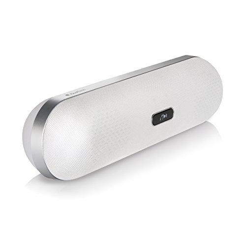 Bluetooth-Lautsprecher – Funklautsprecher XP+ iQual tech – Pillenförmige Design mit hände frei mikrofon + hochwertig 2x5 watt Bluetooth-Lautsprecher